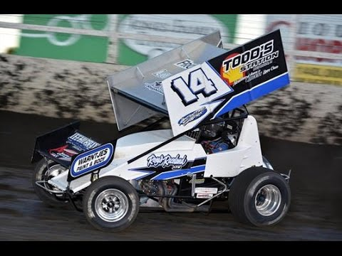 Iowa Driver Jody Rosenboom Wins Sprint Cars at Huset's Sunday on This Outside the Oval