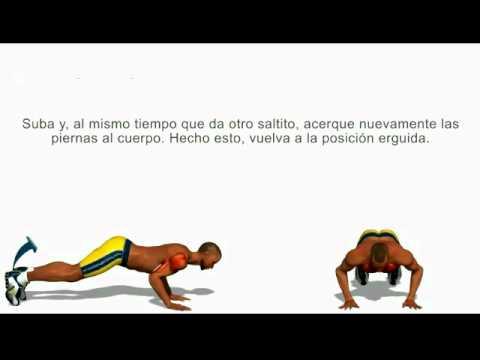 Ejercicio burpees para hombros (Deltoides) - YouTube