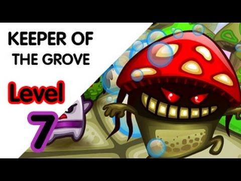 keeper of the grove walkthrough level 7 youtube