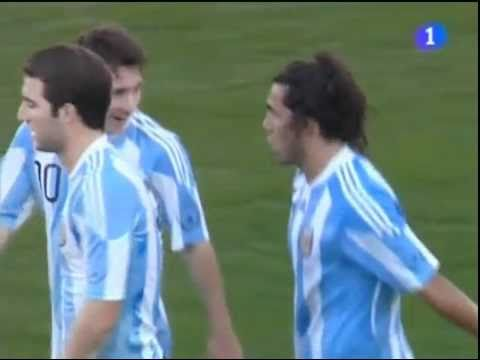 España Vs Argentina 1-4 Goals & Full Highlights Futbol Amistoso