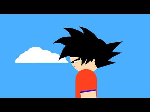 Goku Goes Super Saiyan 3 ▪ Stick Nodes
