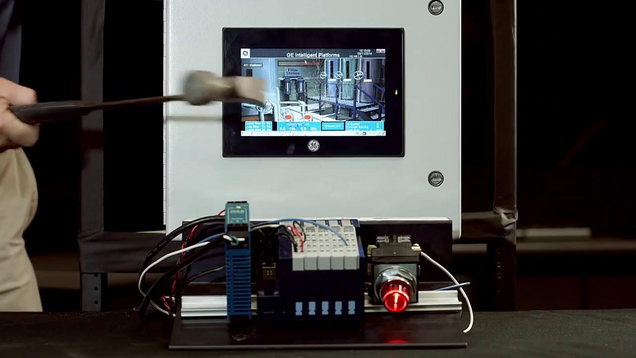 ge automation quickpanel hmi hammer test instrumart youtube. Black Bedroom Furniture Sets. Home Design Ideas