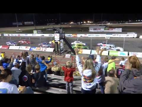 Red River Valley Speedway, IMCA Stock Car Feature, 8/18/2017