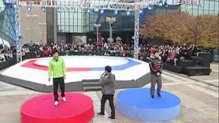 Repeat youtube video 2PM VS  Dream Team  Dance Battle.flv