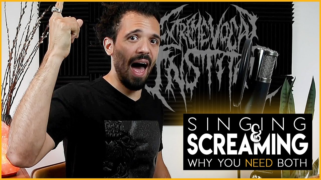 YouTube Lesson: Singing and screaming