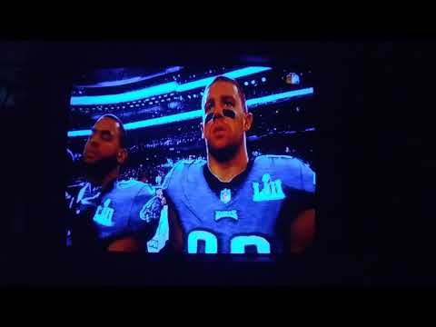 America the Beautiful by Leslie Odom Jr at Super Bowl 52