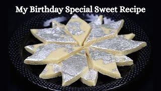 Diwali Sweet Recipe | Kaju Katli Recipe