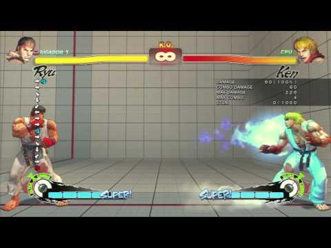 Tutorial Ryu SSFIV Arcade Edition