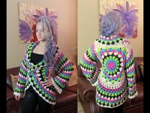 Crochet cardigan circular - con Ruby Stedman
