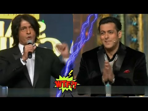 Salman Khan Insulted By Chunky Pandey In Front Of Sonakshi Sinha During Award Show Performance HD