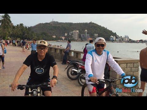 Xe đạp, dạo phố, khám phá Vũng Tàu mùng 3 Tết
