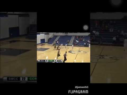 Josh Williams highlights against southern Maine community college