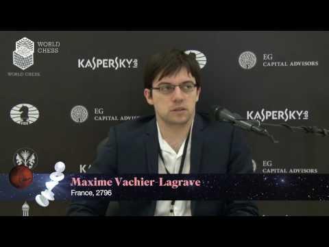 Maxim Vachier-Lagrave in Confession Booth
