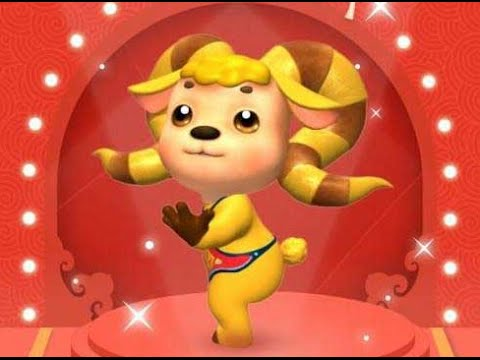 Mascot for Spring Festival Gala revealed