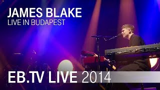 JAMES BLAKE live in Budapest (2014)