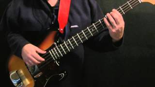 How To Play Bass To Black Magic Woman   Santana   Quickguide #3