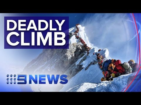 Australian Describes What It's Like To Conquer Everest | Nine News Australia