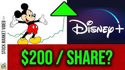 Can Disney+ make Disney Stock $200/share? (DIS Stock Analysis 2019)