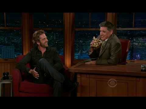 Late Late Show with Craig Ferguson 9/23/2011 Gerard Butler, Kat Dennings