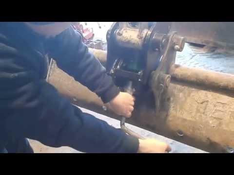 quick coupler for mini excavator