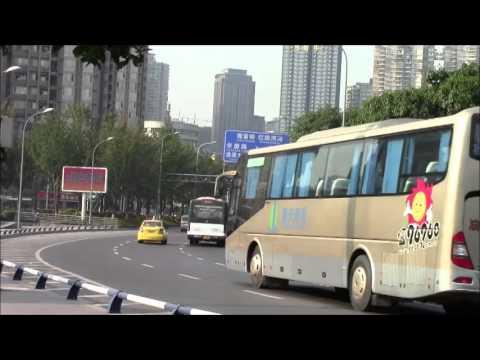 Chongqing Jialing River Bridge & JianXin South Road 13/Oct/2013 重庆嘉陵江大桥と建新南路