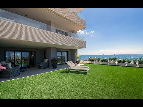 Sea front apartments in Punta Prima Beach