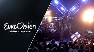 Lordi - Hard Rock Hallelujah (LIVE) Eurovision Song Contest