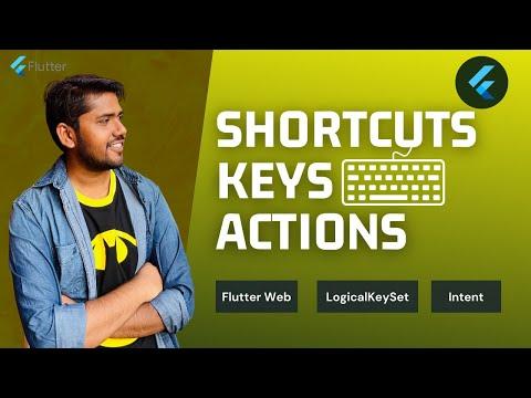 Flutter Keyboard Key Bindings For Web & Desktop   Shortcuts   Actions