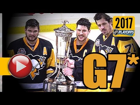 Ottawa Senators vs Pittsburgh Penguins. NHL 2017 Playoffs. Eastern Conference Final. Game 7. (HD)