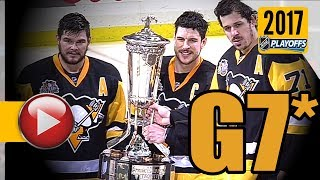 Ottawa Senators vs Pittsburgh Penguins. NHL 2017 Playoffs. Eastern Conference Final. Game 7. (HD) thumbnail