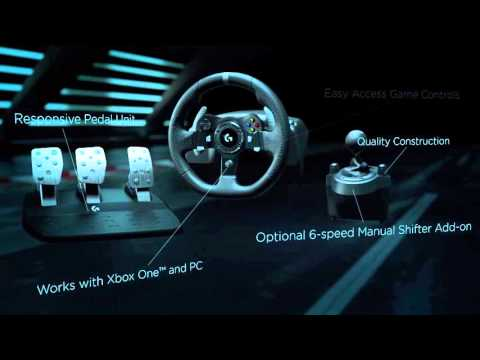 Logitech G920 Driving Force™ the definitive sim racing wheel