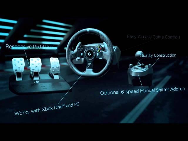 Logitech G920 Xbox One & PC Steering Wheel Review | eTeknix