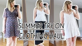 SUMMER TRY ON CLOTHING HAUL | NORDSTROM, MADEWELL, ABERCROMBIE