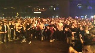Стена смерти на концерте MORGENSHTERN | Тектоник-баттл с THRILL PILL