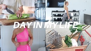 vlog: apartment updates, full leg workout & new workout clothes!