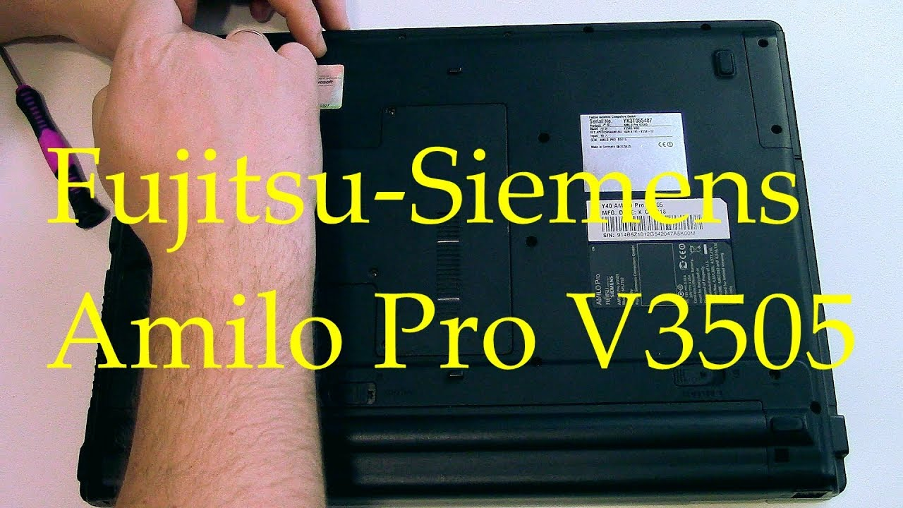 Y40 AMILO PRO V3505 DRIVERS WINDOWS 7 (2019)