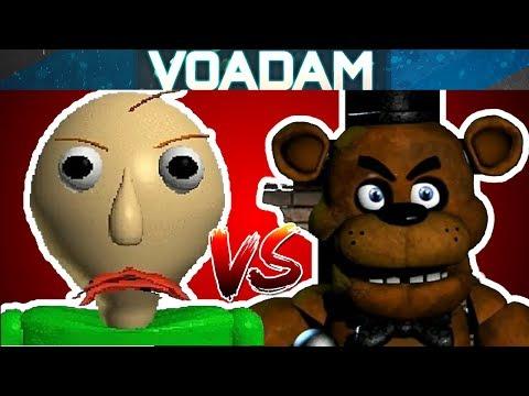 Baldi Plays Five Nights At Freddy's Part 1! (Baldi VS FNAF) thumbnail
