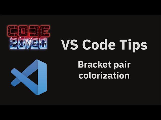 Bracket pair colorization