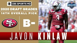 49ers IGNORE OTHER NEEDS and take Javon Kinlaw 14th overall | 2020 NFL Draft | CBS Sports HQ