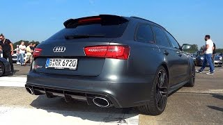 Audi RS6 Avant Exhaust Sound