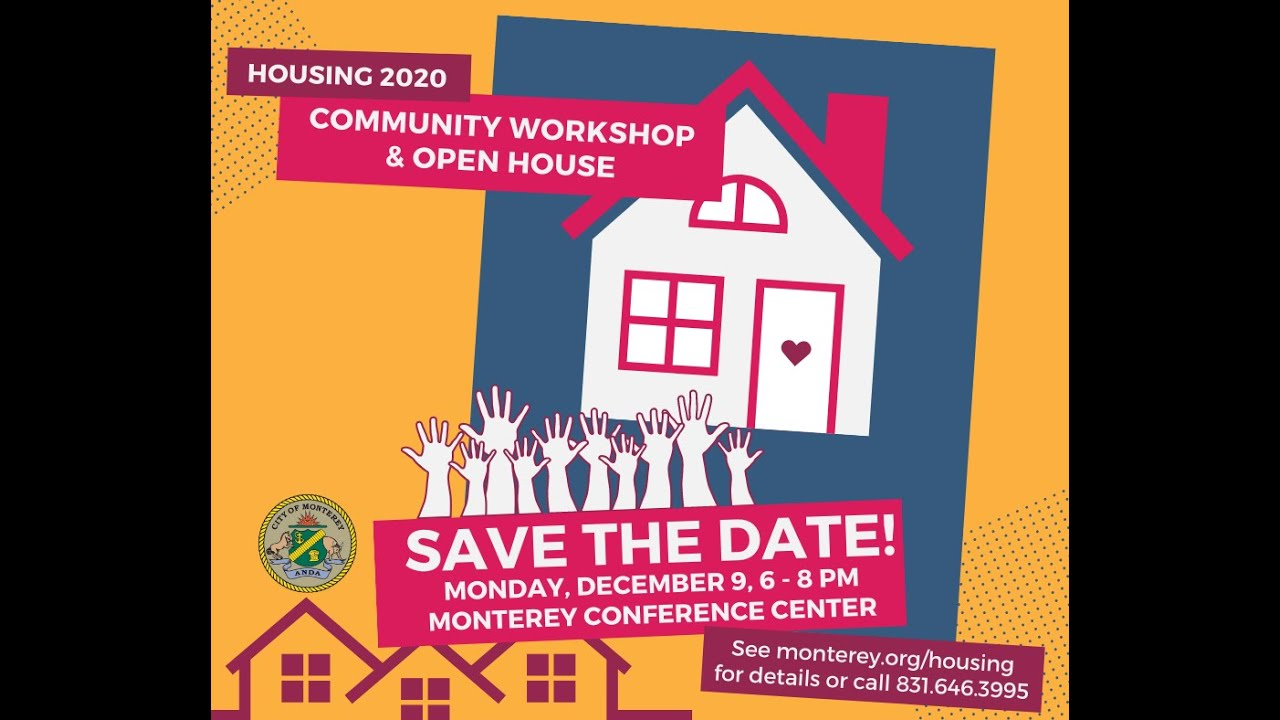 Podcast Invitation to the Housing 2020 Community Workshop and Open House