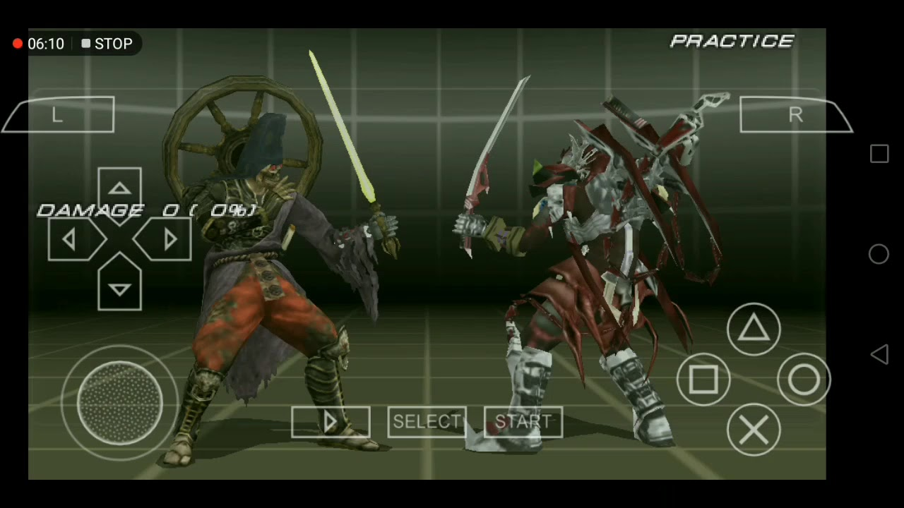 Tekken 6 Ppsspp Yoshimitsu All 166 Combos And Moves Youtube