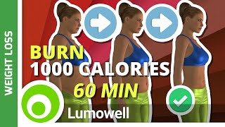 Weight Loss Workout At Home - Burn 1000 Calories Workout