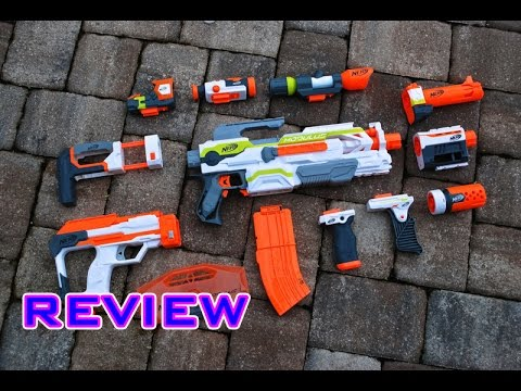 REVIEW Nerf Modulus Upgrade Kits Review DLCExpansion