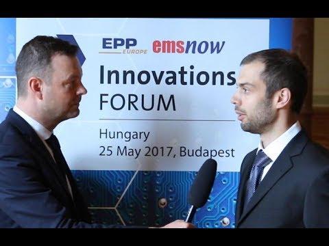 Interview with Istvan Latos, Nordson MatriX at InnovationsFORUM Hungary 2017