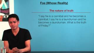 VCE English - Foe (Whose Reality)