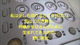 日本パイオニア有限会社がご紹介する、座右の銘にしたい言葉集。 野口英...