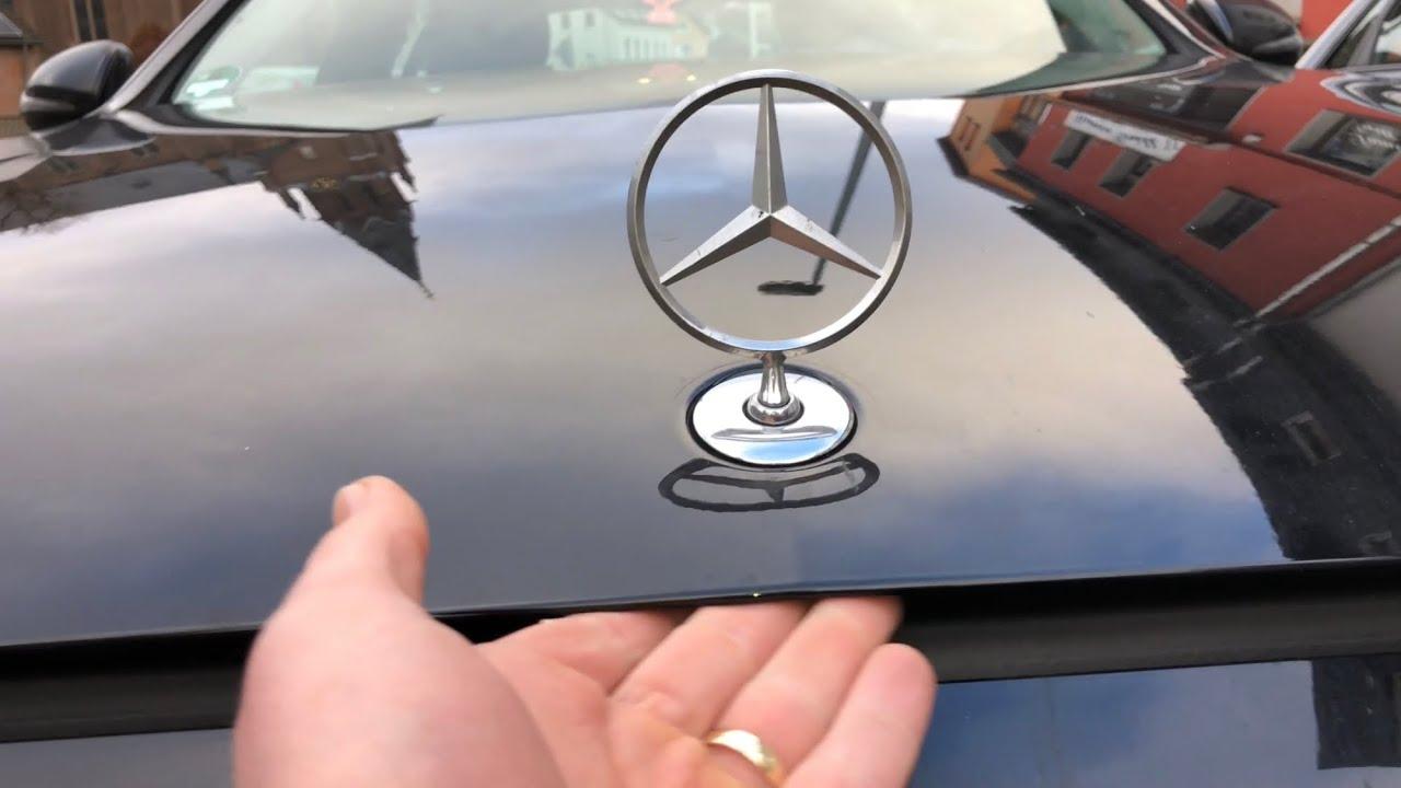 Pkw Motorhaube 246 Ffnen Und Schlie 223 En Mercedes Benz C Klasse