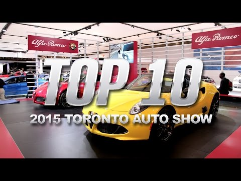 Top Ten Cars Of The 2015 Toronto Auto Show