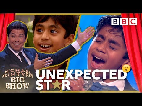 11 year old Anush is the Unexpected Star - Michael McIntyre's Big Show: Series 3 Episode 2 - BBC One